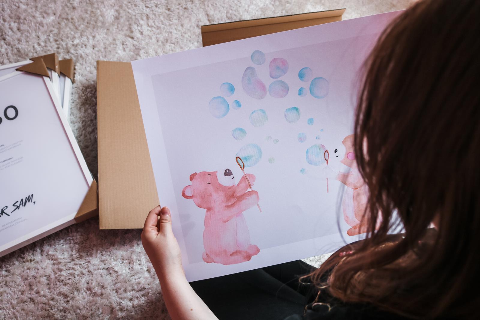 gullig-poster-teddybjörn