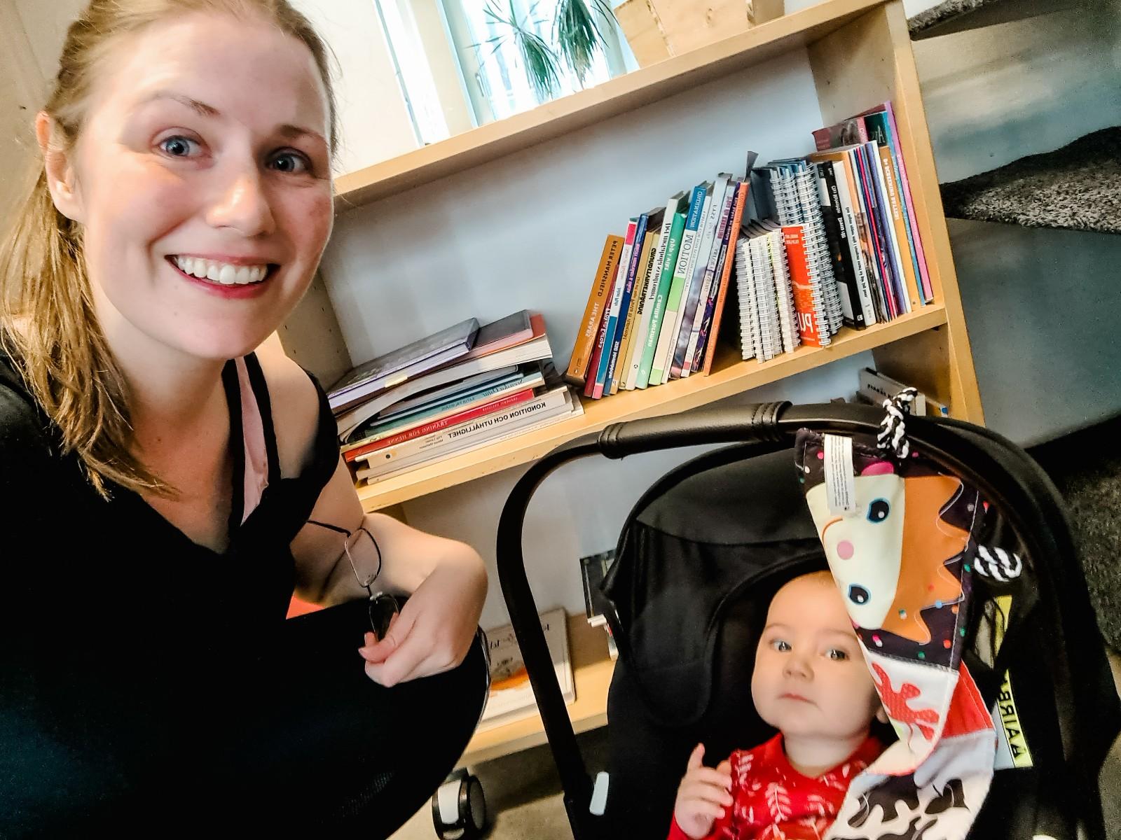 Mamma och 6 månaders bebis som trånade i gymmet på Friskis&Svettis Tyresö
